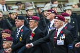 Remembrance Sunday at the Cenotaph 2015: Group A13, Guards Parachute Association. Cenotaph, Whitehall, London SW1, London, Greater London, United Kingdom, on 08 November 2015 at 12:11, image #1274