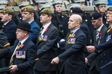 Remembrance Sunday at the Cenotaph 2015: Group A14, 4 Company Association (Parachute Regiment). Cenotaph, Whitehall, London SW1, London, Greater London, United Kingdom, on 08 November 2015 at 12:11, image #1294