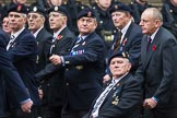 Remembrance Sunday at the Cenotaph 2015: Group A14, 4 Company Association (Parachute Regiment). Cenotaph, Whitehall, London SW1, London, Greater London, United Kingdom, on 08 November 2015 at 12:11, image #1303