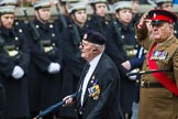 Remembrance Sunday at the Cenotaph 2015: Group A15, Princess of Wales's Royal Regiment. Cenotaph, Whitehall, London SW1, London, Greater London, United Kingdom, on 08 November 2015 at 12:11, image #1306