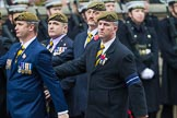Remembrance Sunday at the Cenotaph 2015: Group A15, Princess of Wales's Royal Regiment. Cenotaph, Whitehall, London SW1, London, Greater London, United Kingdom, on 08 November 2015 at 12:11, image #1310