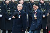 Remembrance Sunday at the Cenotaph 2015: Group A18, Royal Hampshire Regiment Comrades Association. Cenotaph, Whitehall, London SW1, London, Greater London, United Kingdom, on 08 November 2015 at 12:12, image #1311
