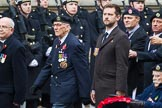 Remembrance Sunday at the Cenotaph 2015: Group A18, Royal Hampshire Regiment Comrades Association. Cenotaph, Whitehall, London SW1, London, Greater London, United Kingdom, on 08 November 2015 at 12:12, image #1312