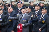 Remembrance Sunday at the Cenotaph 2015: Group A18, Royal Hampshire Regiment Comrades Association. Cenotaph, Whitehall, London SW1, London, Greater London, United Kingdom, on 08 November 2015 at 12:12, image #1317