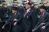 Remembrance Sunday at the Cenotaph 2015: Group A19, The Royal Hampshire Regimental Club. Cenotaph, Whitehall, London SW1, London, Greater London, United Kingdom, on 08 November 2015 at 12:12, image #1320