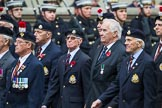 Remembrance Sunday at the Cenotaph 2015: Group A21, Royal Sussex Regimental Association. Cenotaph, Whitehall, London SW1, London, Greater London, United Kingdom, on 08 November 2015 at 12:12, image #1330