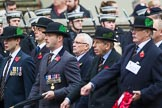 Remembrance Sunday at the Cenotaph 2015: Group A23, Cheshire Regiment Association. Cenotaph, Whitehall, London SW1, London, Greater London, United Kingdom, on 08 November 2015 at 12:12, image #1351