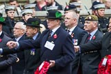 Remembrance Sunday at the Cenotaph 2015: Group A23, Cheshire Regiment Association. Cenotaph, Whitehall, London SW1, London, Greater London, United Kingdom, on 08 November 2015 at 12:12, image #1352