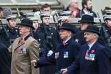 Remembrance Sunday at the Cenotaph 2015: Group A25, Mercian Regiment Association. Cenotaph, Whitehall, London SW1, London, Greater London, United Kingdom, on 08 November 2015 at 12:13, image #1356