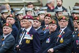 Remembrance Sunday at the Cenotaph 2015: Group A27, The King's Own Royal Border Regiment. Cenotaph, Whitehall, London SW1, London, Greater London, United Kingdom, on 08 November 2015 at 12:13, image #1364