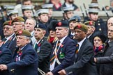 Remembrance Sunday at the Cenotaph 2015: Group A27, The King's Own Royal Border Regiment. Cenotaph, Whitehall, London SW1, London, Greater London, United Kingdom, on 08 November 2015 at 12:13, image #1368