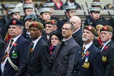 Remembrance Sunday at the Cenotaph 2015: Group A27, The King's Own Royal Border Regiment. Cenotaph, Whitehall, London SW1, London, Greater London, United Kingdom, on 08 November 2015 at 12:13, image #1369