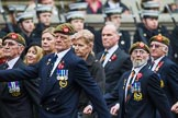 Remembrance Sunday at the Cenotaph 2015: Group A27, The King's Own Royal Border Regiment. Cenotaph, Whitehall, London SW1, London, Greater London, United Kingdom, on 08 November 2015 at 12:13, image #1372