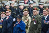 Remembrance Sunday at the Cenotaph 2015: Group A27, The King's Own Royal Border Regiment. Cenotaph, Whitehall, London SW1, London, Greater London, United Kingdom, on 08 November 2015 at 12:13, image #1374