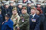 Remembrance Sunday at the Cenotaph 2015: Group A27, The King's Own Royal Border Regiment. Cenotaph, Whitehall, London SW1, London, Greater London, United Kingdom, on 08 November 2015 at 12:13, image #1375