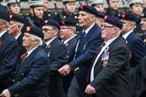 Remembrance Sunday at the Cenotaph 2015: Group A30, The Rifles & Royal Gloucestershire, Berkshire & Wiltshire Regimental Association. Cenotaph, Whitehall, London SW1, London, Greater London, United Kingdom, on 08 November 2015 at 12:13, image #1396