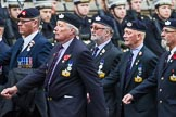 Remembrance Sunday at the Cenotaph 2015: Group A31, Durham Light Infantry Association. Cenotaph, Whitehall, London SW1, London, Greater London, United Kingdom, on 08 November 2015 at 12:13, image #1398