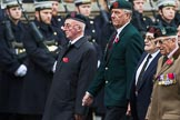 Remembrance Sunday at the Cenotaph 2015: Group A31, Durham Light Infantry Association. Cenotaph, Whitehall, London SW1, London, Greater London, United Kingdom, on 08 November 2015 at 12:13, image #1399