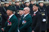 Remembrance Sunday at the Cenotaph 2015: Group A32, King's Royal Rifle Corps Association. Cenotaph, Whitehall, London SW1, London, Greater London, United Kingdom, on 08 November 2015 at 12:13, image #1403