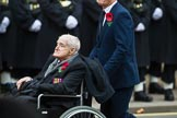 Remembrance Sunday at the Cenotaph 2015: Group A32, King's Royal Rifle Corps Association. Cenotaph, Whitehall, London SW1, London, Greater London, United Kingdom, on 08 November 2015 at 12:14, image #1404