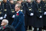 Remembrance Sunday at the Cenotaph 2015: Group A32, King's Royal Rifle Corps Association. Cenotaph, Whitehall, London SW1, London, Greater London, United Kingdom, on 08 November 2015 at 12:14, image #1405