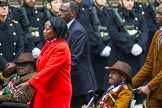 Remembrance Sunday at the Cenotaph 2015: Group A33, King's African Rifles. Cenotaph, Whitehall, London SW1, London, Greater London, United Kingdom, on 08 November 2015 at 12:14, image #1411
