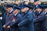 Remembrance Sunday at the Cenotaph 2015: Group M1, Transport for London. Cenotaph, Whitehall, London SW1, London, Greater London, United Kingdom, on 08 November 2015 at 12:14, image #1418