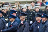 Remembrance Sunday at the Cenotaph 2015: Group M1, Transport for London. Cenotaph, Whitehall, London SW1, London, Greater London, United Kingdom, on 08 November 2015 at 12:14, image #1420