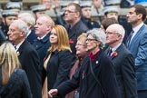Remembrance Sunday at the Cenotaph 2015: Group M2, Children of the Far East Prisoners of War. Cenotaph, Whitehall, London SW1, London, Greater London, United Kingdom, on 08 November 2015 at 12:14, image #1424