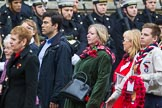 Remembrance Sunday at the Cenotaph 2015: Group M5, Evacuees Reunion Association. Cenotaph, Whitehall, London SW1, London, Greater London, United Kingdom, on 08 November 2015 at 12:14, image #1441
