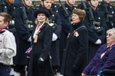 Remembrance Sunday at the Cenotaph 2015: Group M5, Evacuees Reunion Association. Cenotaph, Whitehall, London SW1, London, Greater London, United Kingdom, on 08 November 2015 at 12:14, image #1443