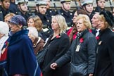 Remembrance Sunday at the Cenotaph 2015: Group M5, Evacuees Reunion Association. Cenotaph, Whitehall, London SW1, London, Greater London, United Kingdom, on 08 November 2015 at 12:15, image #1448