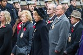 Remembrance Sunday at the Cenotaph 2015: Group M5, Evacuees Reunion Association. Cenotaph, Whitehall, London SW1, London, Greater London, United Kingdom, on 08 November 2015 at 12:15, image #1449