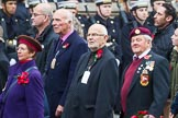 Remembrance Sunday at the Cenotaph 2015: Group M5, Evacuees Reunion Association. Cenotaph, Whitehall, London SW1, London, Greater London, United Kingdom, on 08 November 2015 at 12:15, image #1451