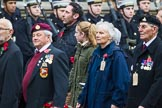 Remembrance Sunday at the Cenotaph 2015: Group M5, Evacuees Reunion Association. Cenotaph, Whitehall, London SW1, London, Greater London, United Kingdom, on 08 November 2015 at 12:15, image #1452