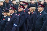 Remembrance Sunday at the Cenotaph 2015: Group M7, Salvation Army. Cenotaph, Whitehall, London SW1, London, Greater London, United Kingdom, on 08 November 2015 at 12:15, image #1455
