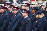 Remembrance Sunday at the Cenotaph 2015: Group M7, Salvation Army. Cenotaph, Whitehall, London SW1, London, Greater London, United Kingdom, on 08 November 2015 at 12:15, image #1457