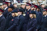 Remembrance Sunday at the Cenotaph 2015: Group M7, Salvation Army. Cenotaph, Whitehall, London SW1, London, Greater London, United Kingdom, on 08 November 2015 at 12:15, image #1458