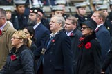 Remembrance Sunday at the Cenotaph 2015: Group M9, Royal Voluntary Service. Cenotaph, Whitehall, London SW1, London, Greater London, United Kingdom, on 08 November 2015 at 12:15, image #1462