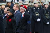 Remembrance Sunday at the Cenotaph 2015: Group M10, Civil Defence Association. Cenotaph, Whitehall, London SW1, London, Greater London, United Kingdom, on 08 November 2015 at 12:15, image #1463