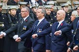Remembrance Sunday at the Cenotaph 2015: Group M11, National Association of Retired Police Officers. Cenotaph, Whitehall, London SW1, London, Greater London, United Kingdom, on 08 November 2015 at 12:15, image #1464