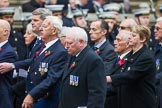 Remembrance Sunday at the Cenotaph 2015: Group M11, National Association of Retired Police Officers. Cenotaph, Whitehall, London SW1, London, Greater London, United Kingdom, on 08 November 2015 at 12:15, image #1466