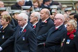 Remembrance Sunday at the Cenotaph 2015: Group M11, National Association of Retired Police Officers. Cenotaph, Whitehall, London SW1, London, Greater London, United Kingdom, on 08 November 2015 at 12:15, image #1468