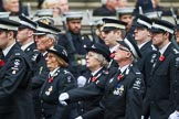Remembrance Sunday at the Cenotaph 2015: Group M15, St John Ambulance. Cenotaph, Whitehall, London SW1, London, Greater London, United Kingdom, on 08 November 2015 at 12:16, image #1508