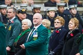 Remembrance Sunday at the Cenotaph 2015: Group M19, Royal Ulster Constabulary (GC) Association. Cenotaph, Whitehall, London SW1, London, Greater London, United Kingdom, on 08 November 2015 at 12:16, image #1533