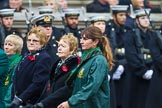Remembrance Sunday at the Cenotaph 2015: Group M19, Royal Ulster Constabulary (GC) Association. Cenotaph, Whitehall, London SW1, London, Greater London, United Kingdom, on 08 November 2015 at 12:16, image #1534