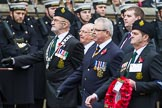 Remembrance Sunday at the Cenotaph 2015: Group M20, Ulster Special Constabulary Association. Cenotaph, Whitehall, London SW1, London, Greater London, United Kingdom, on 08 November 2015 at 12:17, image #1537