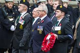 Remembrance Sunday at the Cenotaph 2015: Group M20, Ulster Special Constabulary Association. Cenotaph, Whitehall, London SW1, London, Greater London, United Kingdom, on 08 November 2015 at 12:17, image #1538