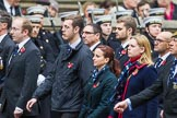 Remembrance Sunday at the Cenotaph 2015: Group M21, Commonwealth War Graves Commission. Cenotaph, Whitehall, London SW1, London, Greater London, United Kingdom, on 08 November 2015 at 12:17, image #1545