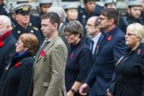Remembrance Sunday at the Cenotaph 2015: Group M23, Civilians Representing Families. Cenotaph, Whitehall, London SW1, London, Greater London, United Kingdom, on 08 November 2015 at 12:17, image #1564